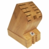 Miyabi 12-Slot Bamboo Block with Drawer