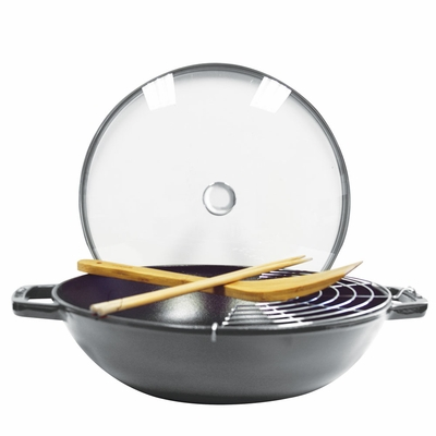 "Perfect Pan 12"", 4.5Qt, Graphite Grey"