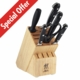 "PROFESSIONAL ""S"" 7pc Block Set"