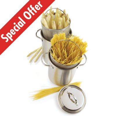 Resto 3-pc Asparagus/Pasta Cooker Set