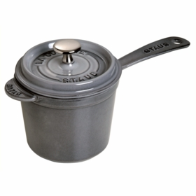 Saucepan with Lid, 3QT, Graphite Grey