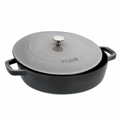 Saut� Pan, 2.75QT Graphite Grey
