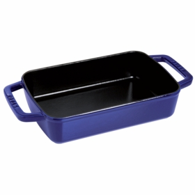 "Small Baker, 3.25QT, 8"" x 12"", Dark Blue"