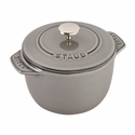 Staub Cast Iron 0.75-qt Petite French Oven - Graphite Grey
