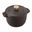 Staub Cast Iron 0.75-qt Petite French Oven - Matte Black