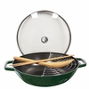 Staub Cast Iron 4.5-qt Perfect Pan - Basil