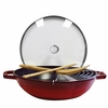 Staub Cast Iron 4.5-qt Perfect Pan - Grenadine
