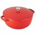 Staub Cast Iron 3.75-qt Essential French Oven -Cherry