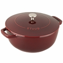 Staub Cast Iron 3.75-qt Essential French Oven - Grenadine