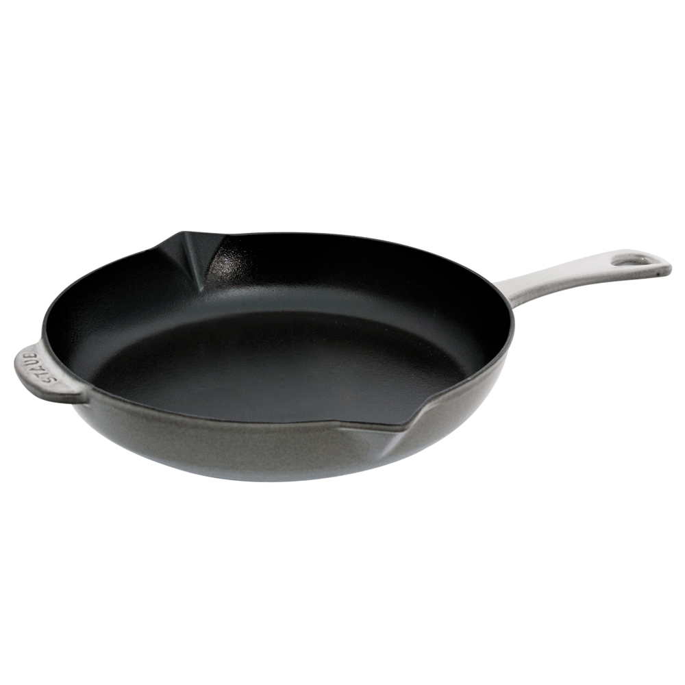 "Frying Pan: Staub Cast Iron 12"" Fry Pan - Visual Imperfections"