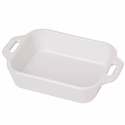 "Staub Ceramic 10.5"" x 7.5"" Rectangular Baking Dish - White"
