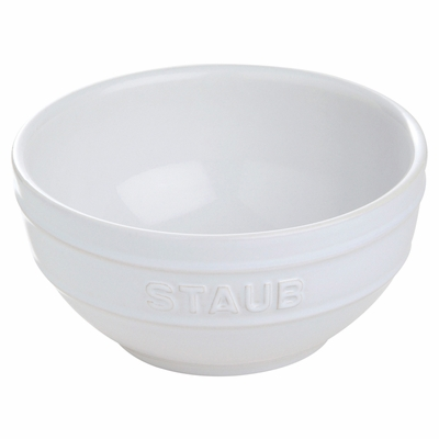 "Staub Ceramic 6.5"" Large Universal Bowl - White"