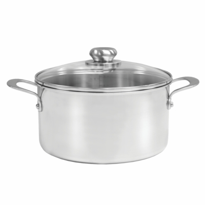 STEELCLAD Stock Pot 8QT with Lid