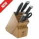 ZWILLING J.A. HENCKELS TWIN Four Star II 6-pc Knife Block Set
