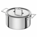 ZWILLING Aurora 5-ply 5.5-qt Stainless Steel Dutch Oven