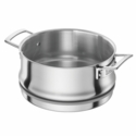 ZWILLING Aurora 5-ply 5.5-qt Stainless Steel Steamer Insert (Fits 5.5-qt Dutch Oven, 8-qt Stock Pot & 3-qt Saute Pan)