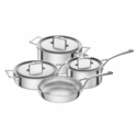 ZWILLING Aurora 5-ply 7-pc Stainless Steel Cookware Set