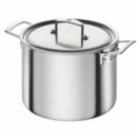 ZWILLING Aurora 5-ply 8-qt Stainless Steel Stock Pot