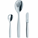 ZWILLING J.A. Henckels Vela 3-pc 18/10 Stainless Steel Flatware Completer Set