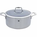 ZWILLING J.A. Henckels Sol 3-ply 8-qt Stainless Steel Thermolon Nonstick Stock Pot