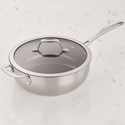 ZWILLING J.A. Henckels Spirit 3-ply 4.6-qt Stainless Steel Ceramic Nonstick Perfect Pan