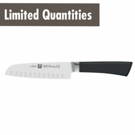 "ZWILLING� One 5"" Santoku Hollow Edge"
