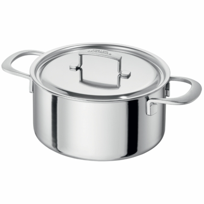 ZWILLING Sensation 5-ply	 5.5-qt Stainless Steel Dutch Oven
