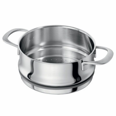 ZWILLING Sensation 5-ply 5.5-qt Stainless Steel Steamer Insert (Fits 5.5-qt Dutch Oven & 8-qt Stock Pot)