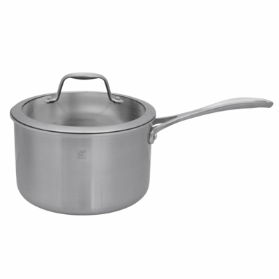 ZWILLING<sup>�</sup> Spirit Polished 4Qt Saucepan with Lid