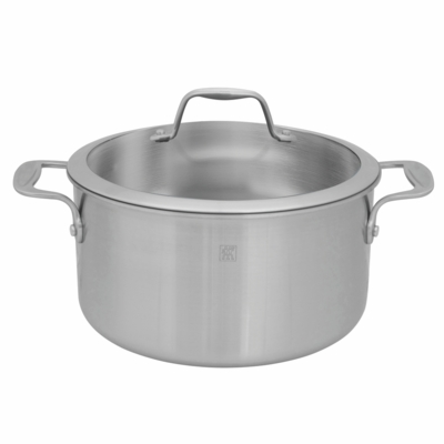 ZWILLING Spirit Tri-ply 6-qt Stainless Steel Dutch Oven