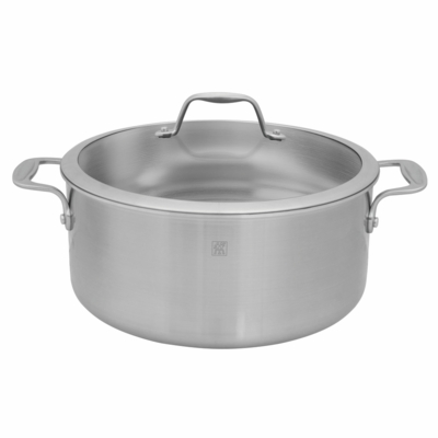 ZWILLING Spirit Tri-ply 8-qt Stainless Steel Stock Pot