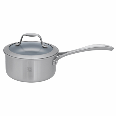 ZWILLING Spirit Tri-ply Thermolon Nonstick 1-qt Stainless Steel Thermolon Nonstick Saucepan