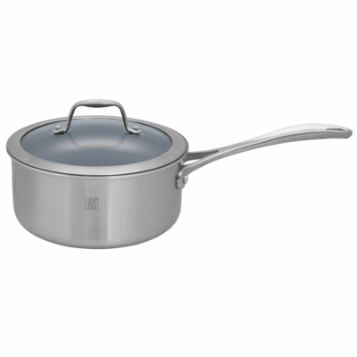 ZWILLING Spirit Tri-ply Thermolon Nonstick 2-qt Stainless Steel Thermolon Nonstick Saucepan