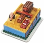 Cars Tractor Tipping Signature Cake Topper Set
