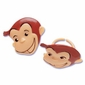 Curious George Cupcake Rings 12 Pack