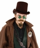Dark Brown Coachman Costume Hat