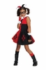 DC Comics Super Villains Harley Quinn Tutu Toddler to Kids Costume