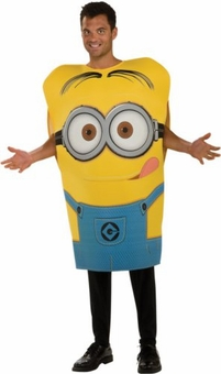 Despicable Me 2 Minion Dave Foam Poncho Adult Costume