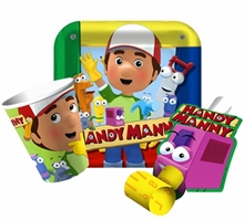 Disney's Handy Manny Party Supplies CLEARANCE