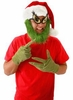 Dr. Seuss The Grinch Beard Santa Hat