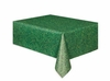 Green Grass Printed Plastic Tablecover