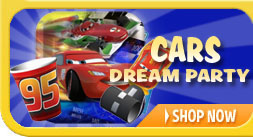 Cars Grand Prix Dream Party Supplies