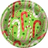 "Light and Merry 7"" Dessert Plates 8 Pack"