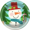 "Light and Merry 9"" Lunch Plates 8 Pack"