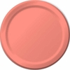 "Light Coral 9"" Lunch Plates 24 Pack"