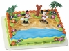Mickey & Friends Luau Party Cake Topper Set