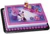 Mickey & Friends Minnie Hat Box Cake Topper Set