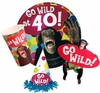 Monkey Around  40th-50th-60th  Birthday Party Supplies