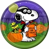 "Peanuts Great Pumpkin 7"" Dessert Plates 8 Pack"