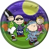 "Peanuts Great Pumpkin 9"" Lunch Plates 8 Pack"
